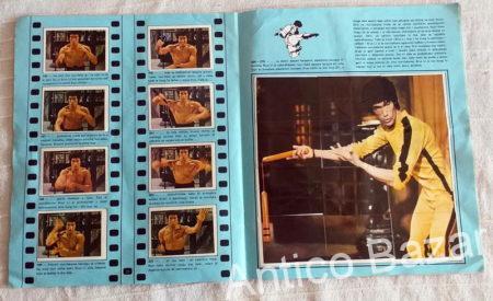 BRUCE LEE Asovi Stadiona Dečije Novine - 1977 Kompletno popunjen album